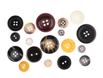 Set of buttons Royalty Free Stock Photos