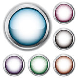 Set of buttons. Vector illustration stock illustration