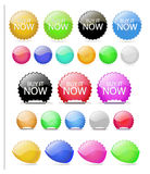 Web Elements Vector Button Set Stock Photo