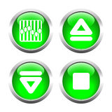 A set of  buttons. Vector. Stock Photos