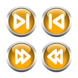A set of  buttons. Vector. Stock Photography