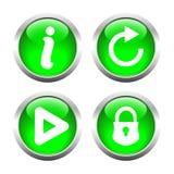 A set of  buttons. Vector. Stock Photos