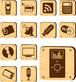 Set buttons - 177_W. Hi-tech and Digital Stock Photography