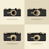 Set 4 cameras Stock Photography
