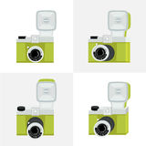 Set of cameras Royalty Free Stock Images