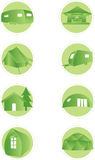 Set of camping web icons Royalty Free Stock Image