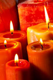 Set of Candles Royalty Free Stock Photo