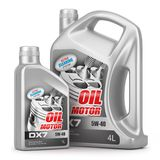 Set of canisters motor oil Stock Image