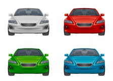 Set of car Stock Images