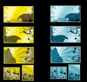 Set cards Stock Image