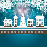 Set of cards with Christmas BALLS, stars and Royalty Free Stock Photos