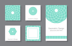 Set of cards Royalty Free Stock Image