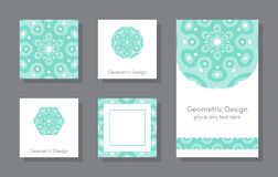 Set of cards Stock Images
