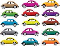 Set of cars Royalty Free Stock Photo