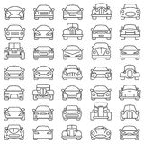 Set of cars Stock Photography