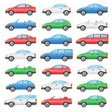 Set of cars. Royalty Free Stock Image