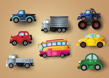 Set of cars Royalty Free Stock Image