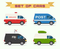 Set of cars Stock Images