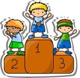 Set  cartoon sport icons,vector Royalty Free Stock Image