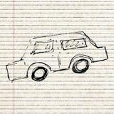 Set of cartoon style car Stock Photography