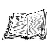 Set of cartoon style notebook Royalty Free Stock Photography