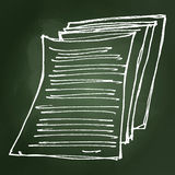 Set of cartoon style notebook Royalty Free Stock Image