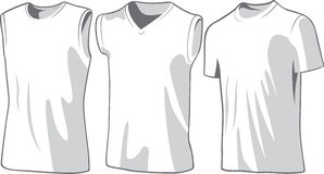 Set of the casual wear. Vector Stock Images