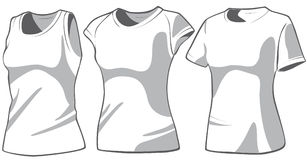 Set of the casual woman's wear. Vector Stock Photo