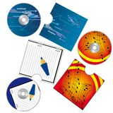A set of CDs Stock Photography