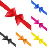 Set of celebratory bows #4 Royalty Free Stock Photography