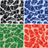 Set of cell Pattern Stock Photo
