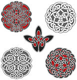 Set of celtic design elements Stock Image