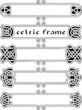 Set celtic frame Royalty Free Stock Photo