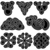 Set celtic knot. Royalty Free Stock Photos