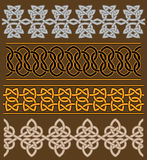 Set of celtic ornaments Royalty Free Stock Photography