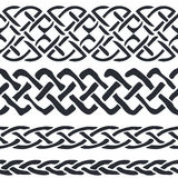 Set of Celtic Pattern Borders vector Royalty Free Stock Photos