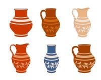 Set of ceramic crockery. Stock Image