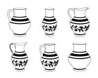 Set of ceramic crockery. Stock Photography