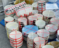 Set of Ceramic cup. Ceramic cup in the wholesale market Stock Image