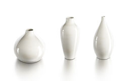 Set of ceramic vases Stock Images