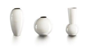 Set of ceramic vases Stock Photography