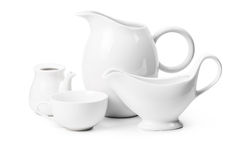 Set of ceramic ware Stock Photography