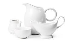 Set of ceramic ware Stock Photography