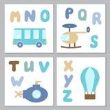 Set chłopiec printables Fotografia Stock