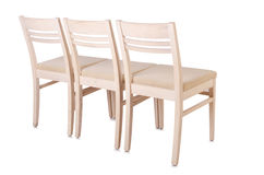 Set of chairs Stock Images