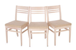 Set of chairs Royalty Free Stock Photo