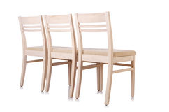Set of chairs Stock Photography