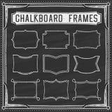 A Set of Chalkboard Frames - Design Elements - Illustration Royalty Free Stock Image