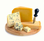 Set of cheese Stock Images