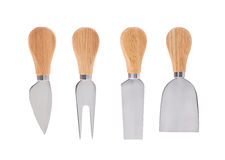 Set of  cheese knives Royalty Free Stock Photo